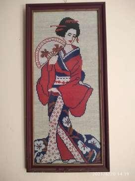 Lukisan antik Oshin Tahun 1970