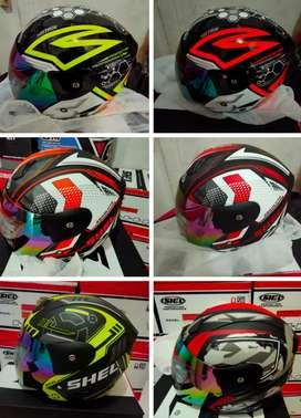 Helm shell excel stock terbatas