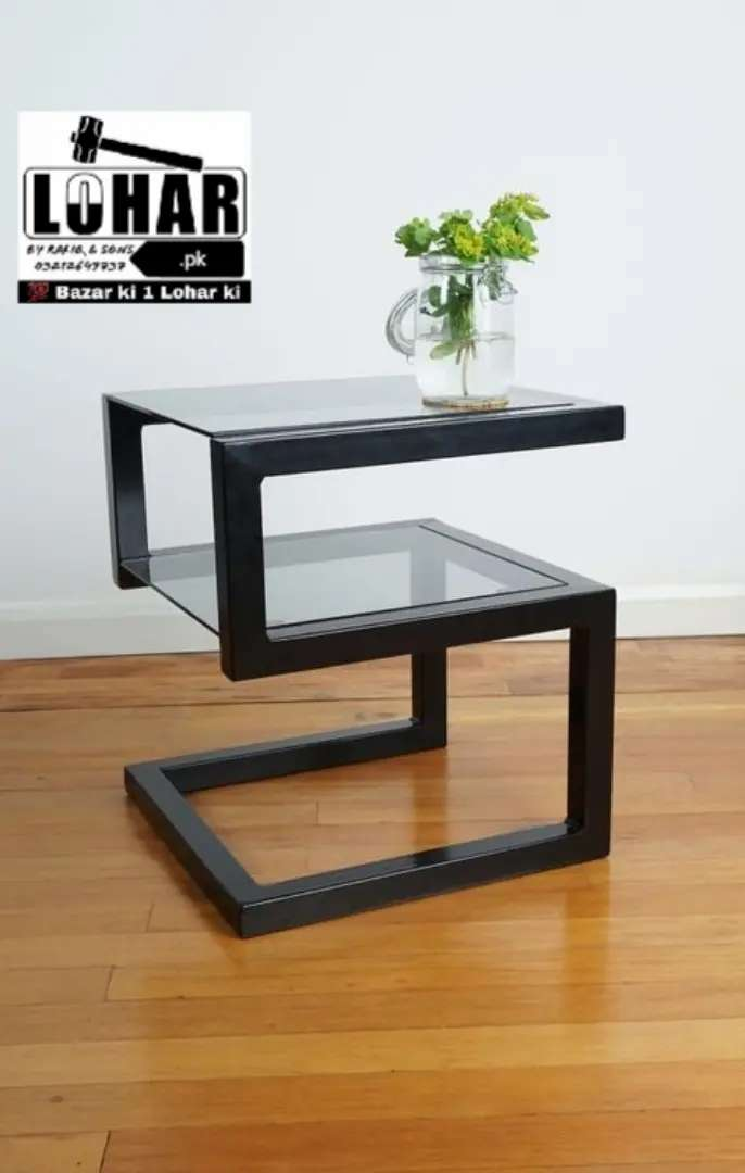 Iron Center Table, Side Tables, Corner Tables 0
