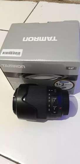 Lensa tamron 18-200 Di mark ii VC canon fullset murah ,NEGO