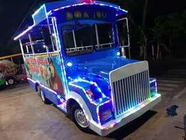 kereta mini wisata odong mobil kijang sepur kelinci komplit ss CERAH 1