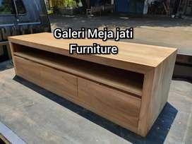 Meja tv minimalis kode B821 wood