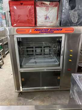 Roster machine 16 chargha capacity pizza oven deep fryer fast food etc