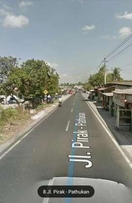 Tanah Istimewa pinggir jalan Utama 1300m Sidomulyo, Godean