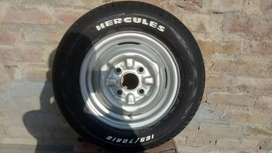 Brand new tyre with rim for sale