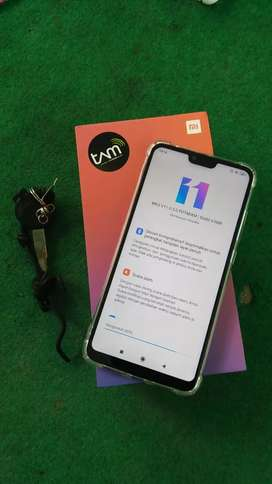 Xiaomi mi8 lite 4/64 resmi tam fullset monggo