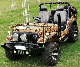 Modified open willys jeeps in new looks
