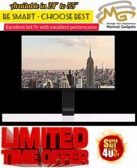 Facebook, you tube Access: 40 inch Smart LED TV