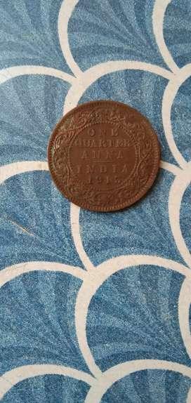 Copper coin 1913