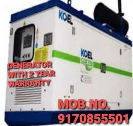 SUPER SILENT GENERATORS WITH 2 YEAR WARRANTY N LOW NOISE LEVELS