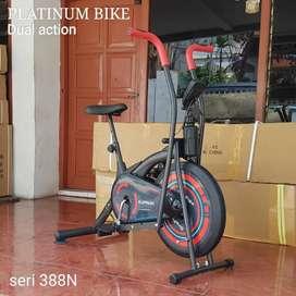 Sepeda statis dua fungsi