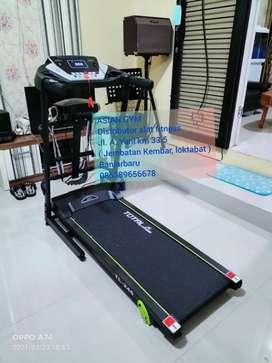 Ready alat fitness terlengkap termurah treadmill multifungsi bisa cod