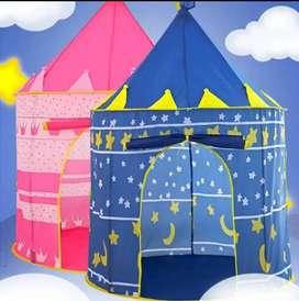 Tenda anak anak main warna Pink Biru. Ready stock palembang