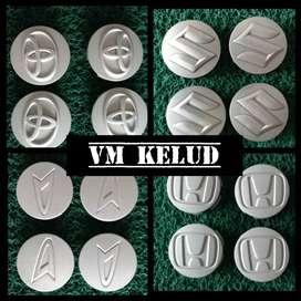 Minggu Vm Buka Ready OnSale Cover Lubang Velg logo Suzuki warna silver