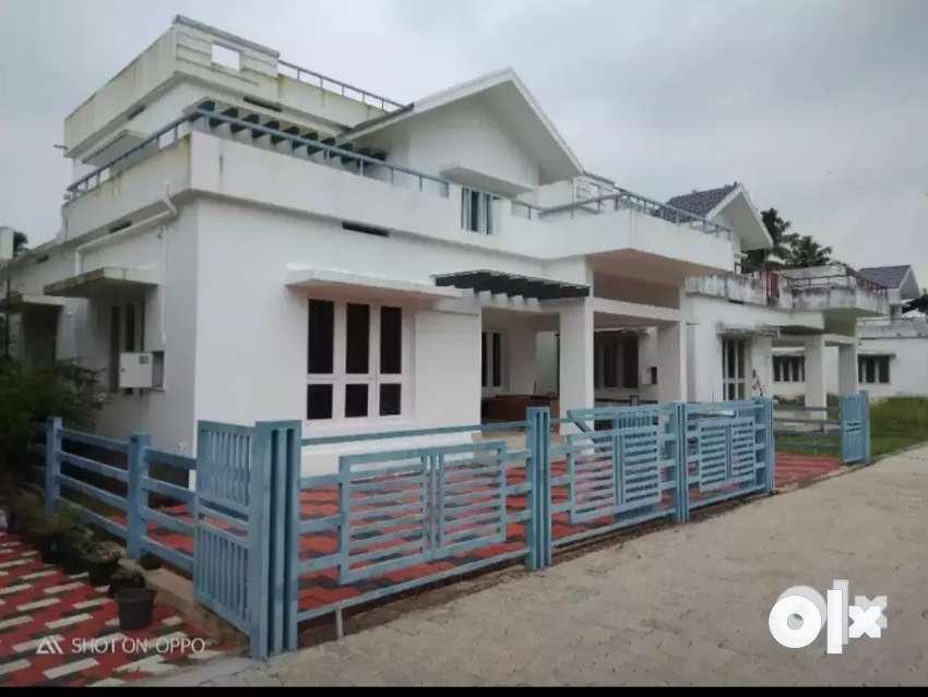 Ready to occupy 3 bhk 2000 sqft 6 cent villa at aluva u.c collage near 0