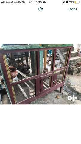 Bird cage available for sale
