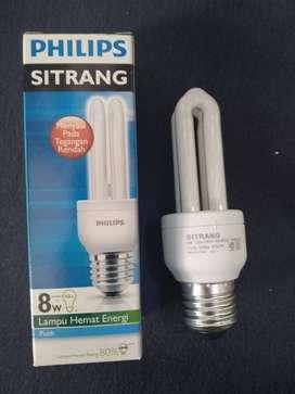 Lampu Philips Sitrang 8 watt
