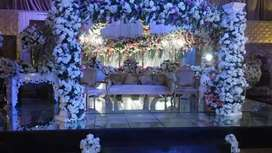 Wedding Flowers Decoration service 24/7 in Lahore