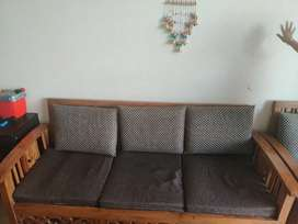 3+2 sofa set with table on sale