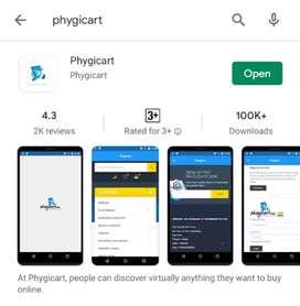 Phygicart online business
