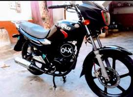 Stryker heavy sports 125cc import by Habib Assembled India made Europe