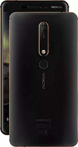 4 months old Nokia 6.1 Black Copper