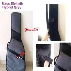 Tas bass eleektrik drcase gigbag bass elektrik drcase hybrid grey