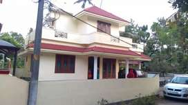 Ready to occupy 5 cent 1350 sqft 3 bhk house at North paravur