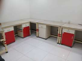 Marble top table workstations for labs etc