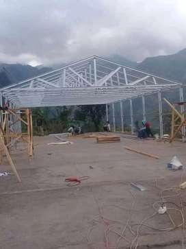 Terima jasa pemasangan rangka atap baja ringan