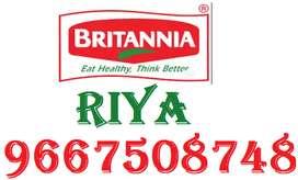 Britannia Full time job apply in helper,store keeper,supervisor 100%