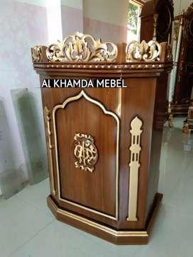 Ready Mimbar Musholla Kerajinan Jepara @159