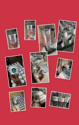 Sablon/printing GELAS thai tea (GELAS CUP PLASTIK PP) 16oz 8gram
