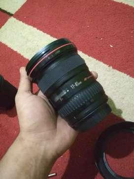 Lensa 17-40 L no jamur series kondisi normal lancar jaya