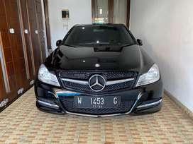 Mercedes benz mercy C 200 cgi facelift antik kilo 17 ribu like new