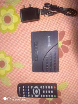 TV TUNER WITH REMOTE AND ADOPTER