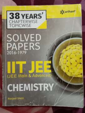 IIT JEE 38Year Chemistry Chapterwise Topicwise Arihant