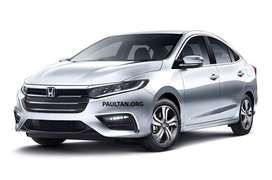 this is new honda city at minimum down payment