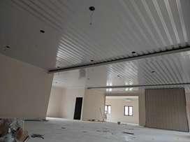 Pemasangan Plafon & Partisi PVC untuk Kantor atau Gedung Asam Asam