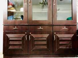 3 door divider with drawer