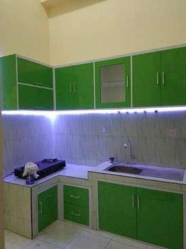 Kitchen set Minimalis Furniture partisi penyekat Ruangan bifet AVP