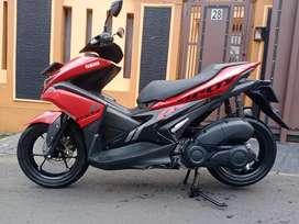 Yamaha aerox 2019 plat jakarta