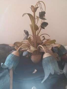 Lampu gantung design bunga