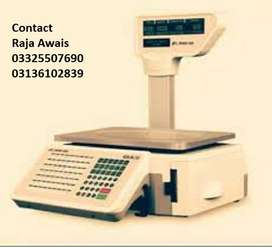 Weighing scale For Receipt printing  and Label printing Available