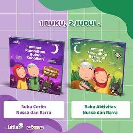 Buku Nussa Rarra - Ramadhan Bersama Nussa / Ramadhan Bulan Kebaikan
