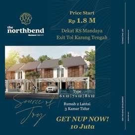 The Northbend Rumah Mewah 2 Lantai Di Metland Puri 6x12 Hanya 1,8M-an
