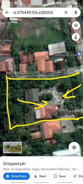 Tanah dijual cepat Gaga Pakuhaji Tangerang