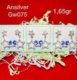 giwang star silver925