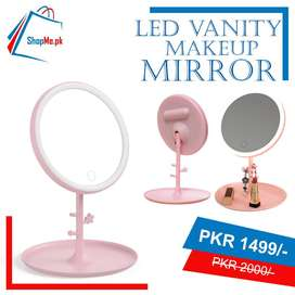 LED Vanity Makeup Mirror Touch Light