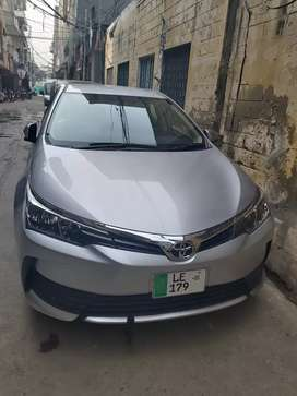 I have toyota corolla gli 2020 for pick and drop aur in any company